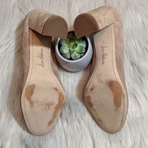 e72bd31c559d0 Sam Edelman Shoes - Sam Edelman Stillson Pump Oatmeal Suede Heels 9
